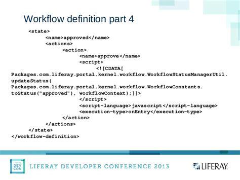 workflow definition language liferay devcon presentation on dynamic forms with liferay
