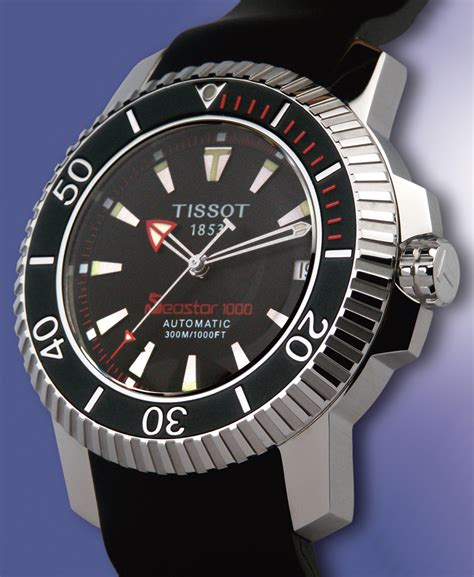 tissot dive watches tissot diver seastar 1000 automatic pictures