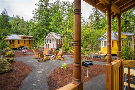 Small Home Villages 7 Tiny House Hotels For Size Vacations