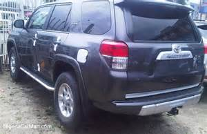Used Cars For Sale In Nigeria With Prices 2016 Toyota 86 4runner 400 000 Auction Price Used Car For