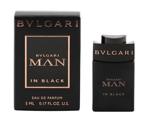 Miniature Original Bvlgari In Black Edp 5ml bvlgari in black by bvlgari