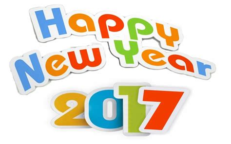 happy new year 2017 text happy new year 2017 colorful text wishes