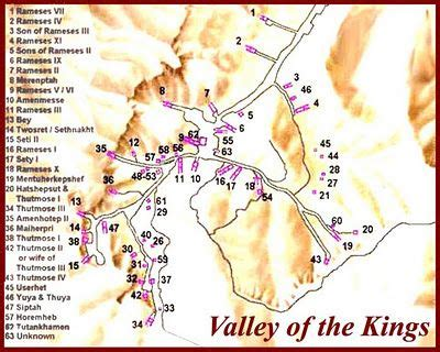 kings and queens villa map location of kings and queens survey map valley of the kings tutankhamun the