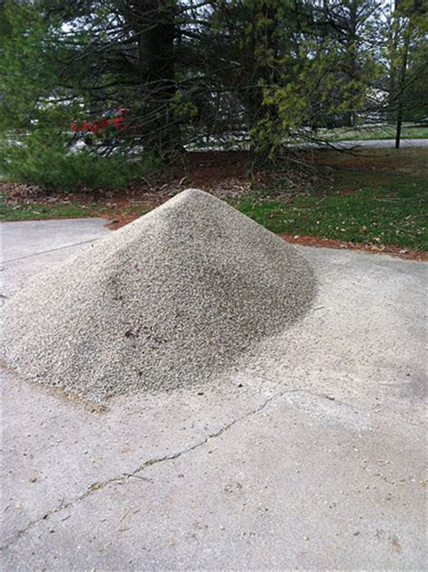 One Ton Of Gravel 3 Tons Of Pea Gravel Flickr Photo