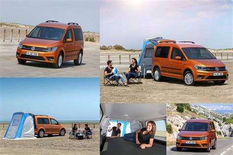 volkswagen beach volkswagen caddy beach en mode camping car