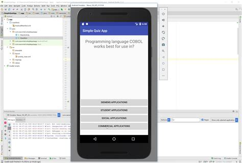 android tutorial android slidingpanels simple way to android simple quiz app free source code tutorials