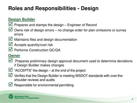 design engineer role and responsibilities ppt jeff carpenter state construction engineer