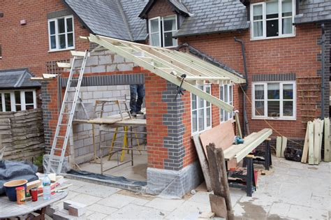 how to build a floor for a house rear house extension overton builder ben hand builder