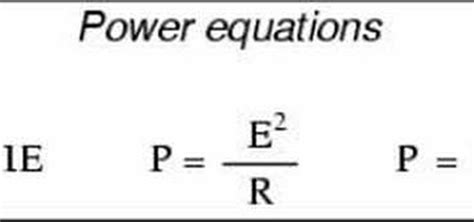 electricity cost formula equation for power electricity jennarocca