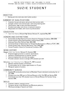 Resume Sample Teenager by Teen Resume Free Excel Templates