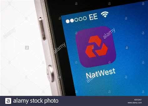 natwest mobile banking natwest app stock photos natwest app stock images alamy