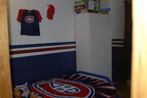 decoration chambre hockey canadien