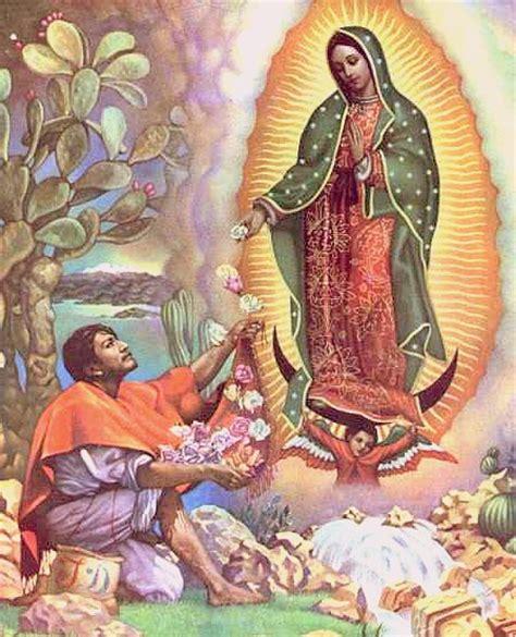 imagen virgen de guadalupe con rosas compartiendo por amor virgen guadalupe
