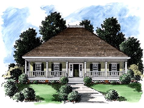 Cannon Plantation Ranch Home Plan 024d 0170 House Plans And More