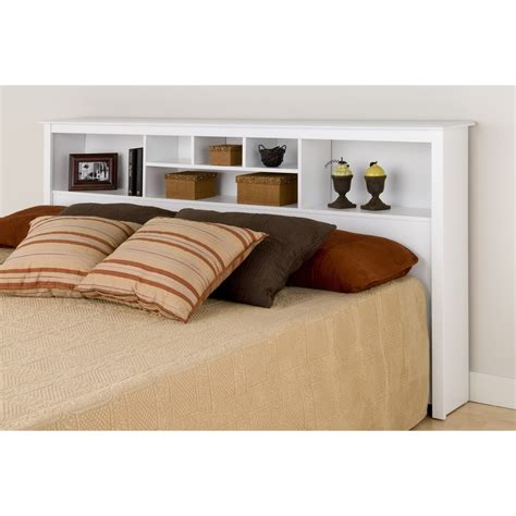 white king headboard white king bookcase headboard