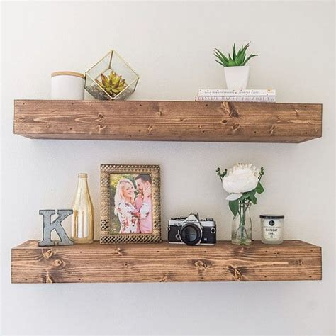25 best ideas about rustic floating shelves on