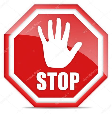Stop With The by Stop Sign Stock Photo 169 Arcady 9049261