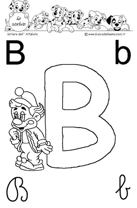 lettere dell alfabeto italiano da stare immagini lettera b lettere dell alfabeto pagliacci circo