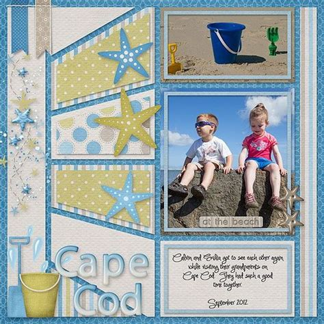 scrapbook layout generator holiday scrapbook pages beach pinterest