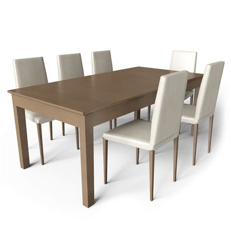 ikea dining table cad and bim object markor dining table 2 ikea
