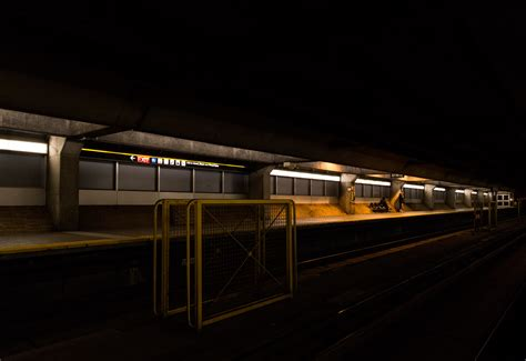 Perspecitve In A Tornoto Subway Station by 20151006 Southbound Perspective At Toronto S