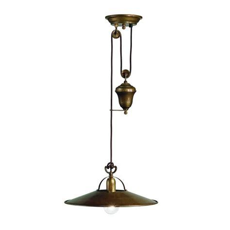 Counterweight Pendant Light Pomezia Pendant Light With Counterweight In Brass Christophe Living Lighting