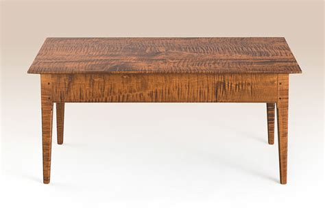 Cherry Sack Back Windsor Settee With Comb Upton Coffee Table