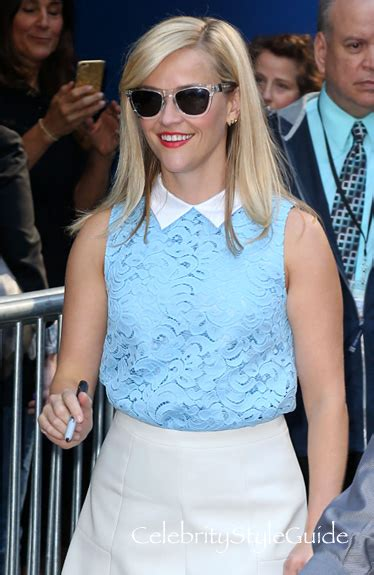 Reese Witherspoon To Beckham Look At Whos Wearing Your by Reese Witherspoon On Style Guide