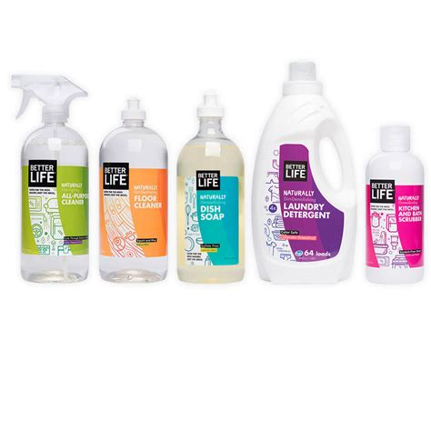 cleaning products better life natural cleaning products the dieline