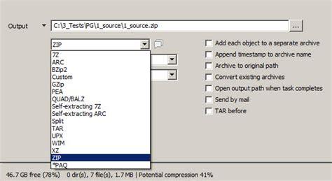 best compression program 3 best free compression zip rar software