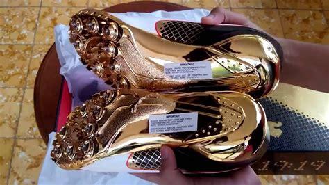 Sepatu Spike Gold sepatu spikes evospeed electric bolt gold 189064 01