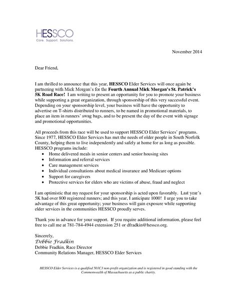stunning sponsorship proposal cover letter photos coloring 2018