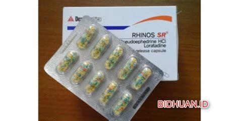 Rhinos Obat Flu Rhinos Sr Obat Dekongestan Untuk Mengatasi Hidung