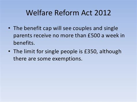 welfare reform act 2012 bedroom tax poverty strategies