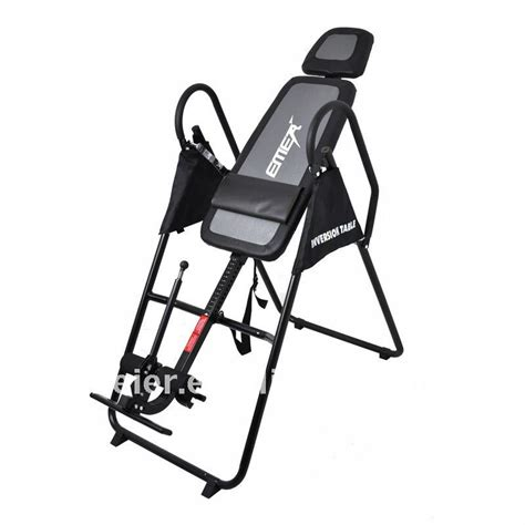 Emer Inversion Table by 2015 Emer Foldable Inversion Table With Longer Handle