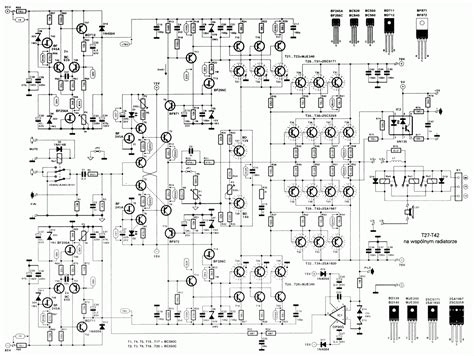 Kit Power Sanken Stereo Pa 400w Altis Rakitan Power 20 000 watt audio lifier scheme collections