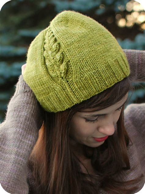 knit pattern leaf hat 17 best images about knitted hats on pinterest drops
