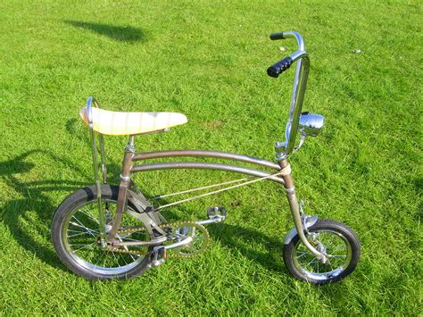 bicycle swing swing bikes at the billing raleigh chopper rally in the uk