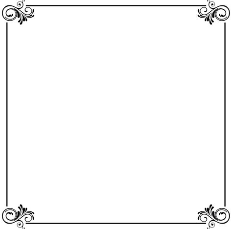 card borders wedding card border clipart best
