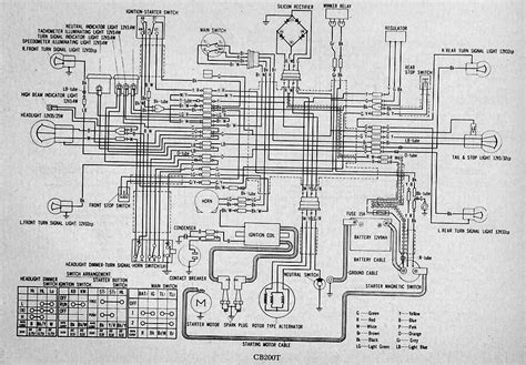 wiring diagram of honda motorcycle cd 70 wiring diagram