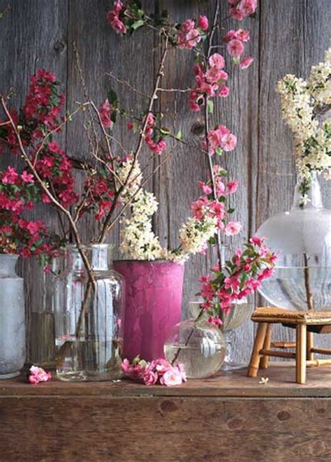 flower arrangements for home decor 15 floral arrangements with flowering branches spring