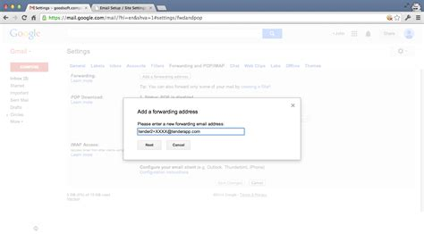 Lookup Email Address Owner Gmail Setting Up Forwarding In Gmail Email Integration Knowledge Base Tender Support