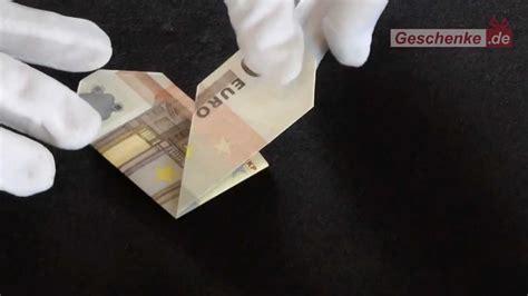 bettdecke falten anleitung geldschein falten herz origami geld zum herz falten