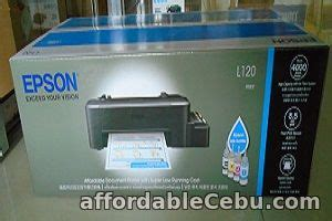 Printer Epson L120 Second epson l120 printer for sale mandaue city cebu philippines 60044
