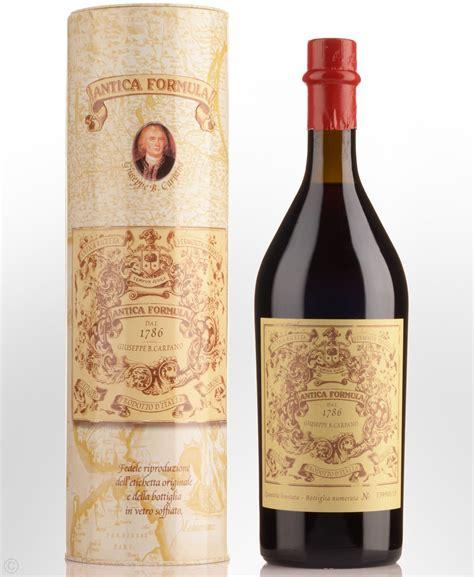 carpano vermouth carpano antica formula 1786 red vermouth 1000ml vermouth