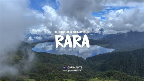 Rara All rara lake trek to a of heaven on earth