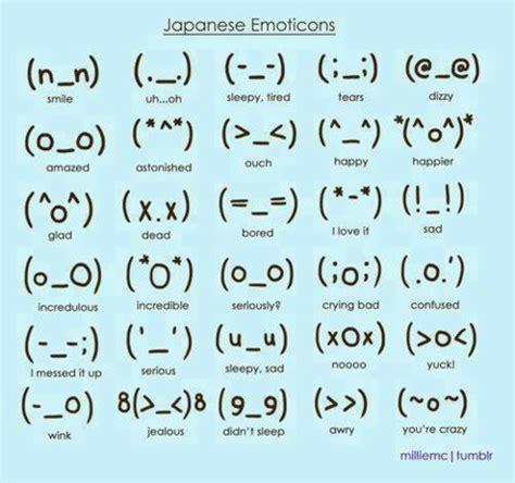 layout twitter significado emoticones japoneses para tu muro de facebook lo nuevo