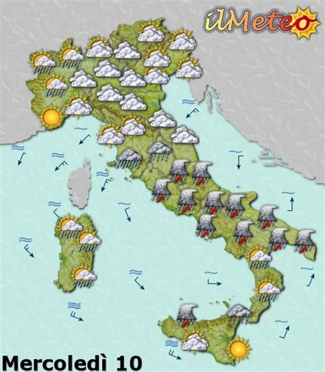 meteo con web prodotti web cartine statiche ed animate 187 ilmeteo it
