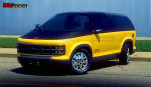 Chevrolet Blazer Concept Autos Of Interest 187 1987 Chevrolet Blazer Xt 1 Concept