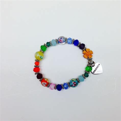 serenity prayer beaded bracelet beaded serenity prayer bracelets with hawaiian prayer